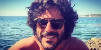 Francesco Renga da un video postato su Facebook