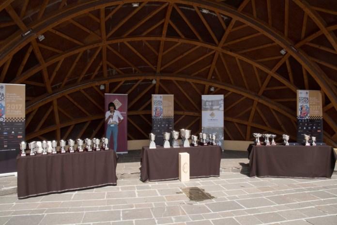 Coppa d'oro delle Dolomiti, un'immagine dell'edizione 2017: la premiazione