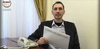 Il deputato del Movimento 5 Stelle Claudio Cominardi