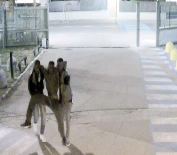 L'arrivo del senegalese ferito al pronto soccorso - ph credit ufficio stampa www.bsnews.it