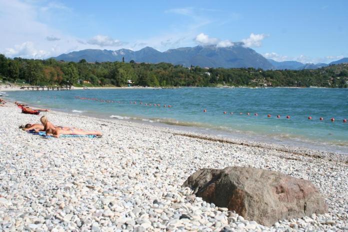 Spiaggia a Manerba del Garda