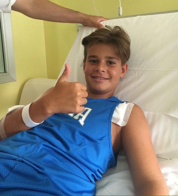 Paolo Zanini saluta i tifosi dal letto di ospedale: la paura è passata