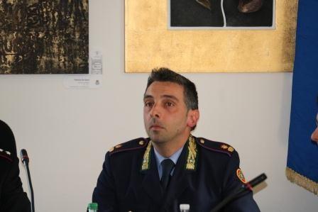 Il comandante della Locale di Toscolano Alessandro Costa - foto da ufficio stampa