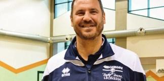 L'allenatore del Brescia Basket, Andrea Diana