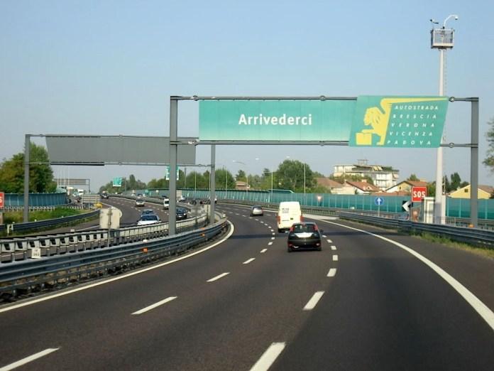 L'autostrada A4 Brescia-Padova