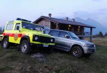 I mezzi del soccorso alpino impiegati