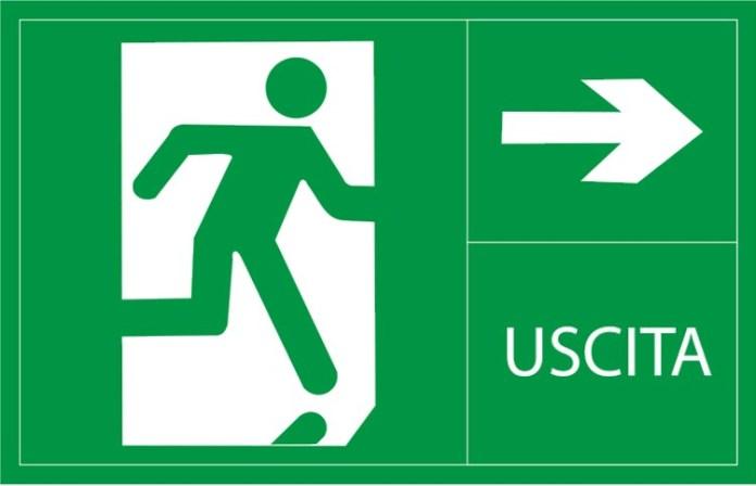 Segnale d'evacuazione