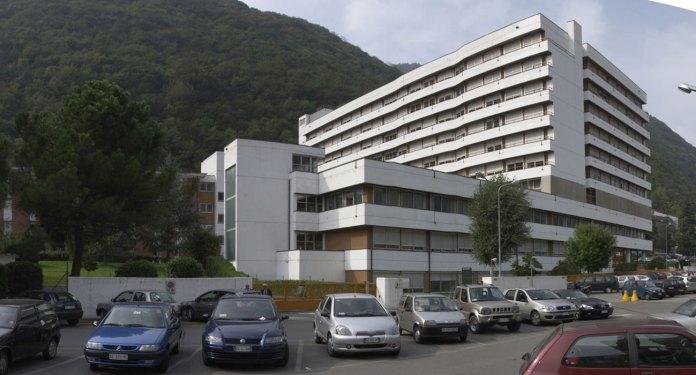 L'ospedale di Gardone Valtrompia