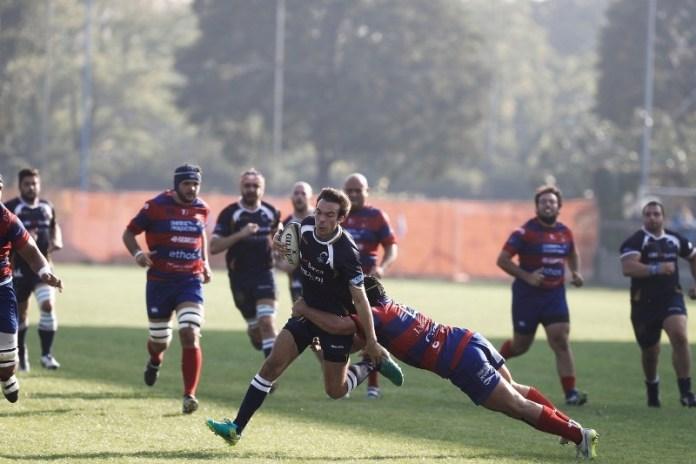 Il Rugby Parabiago si impone all'Invernici di Brescia contro i padroni di casa - foto da ufficio stampa