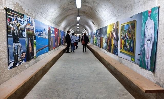 Lawrence Ferlinghetti around the Beat, è il titolo della mostra allestita nel bunker di via Odoricida Albano Morandi e Walter Pescara, foto di Enrica Recalcati per www.bsnews.it