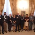 I candidati della lisgta Ordine amico dell'Ordine dei medici di Brescia, con Ottavio Di Stefano, www.bsnews.it