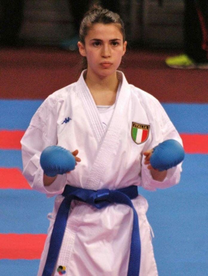 La karateka bresciana Lucrezia Molgora, www.bsnews.it