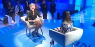 Una delle presunte vittime degli abusi sessuali alla palestra di Lonato del Garda intervistata a La vita in diretta, sulla Rai