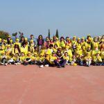 I bambini che hanno partecipato all'iniziativa Puliamo il mondo, promossa da Legambiente in collaborazione con il Comune di Desenzano in provincia di Brescia, www.bsnews.it