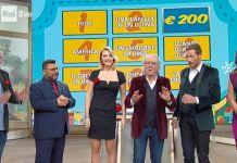 Il cast del programma Rai Mezzogiorno in famiglia, che arriva nel Bresciano