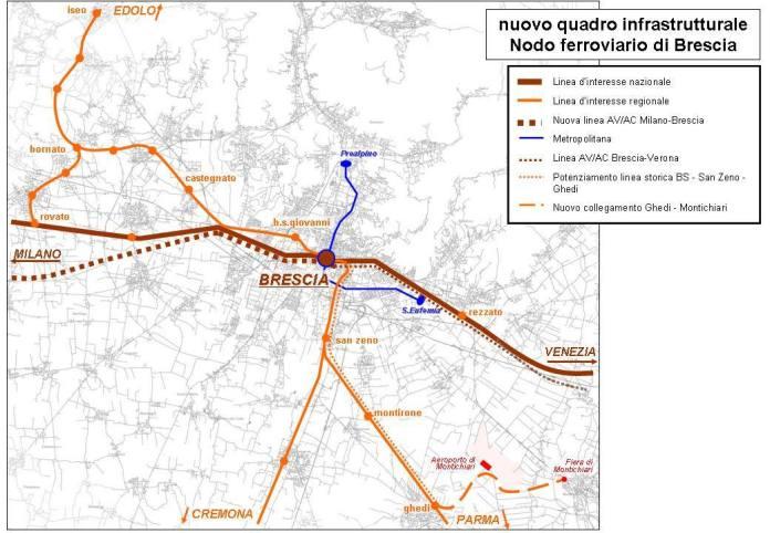 Il nuovo quadro infrastrutturale del bresciano