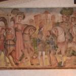 Una delle opere rubate ritrovate dalla Polizia