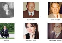 Alcuni dei bresciani illustri scomparsi che saranno ricordati al Famedio