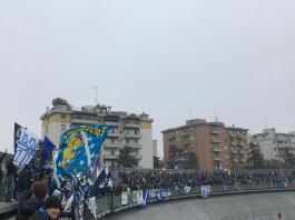 La tifoseria del Brescia Calcio nel match contro Carpi, foto Jenni Generale per BsNews.it