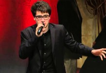 Daver Monaco, cantautore di Brescia a San Remo, foto da YouTube