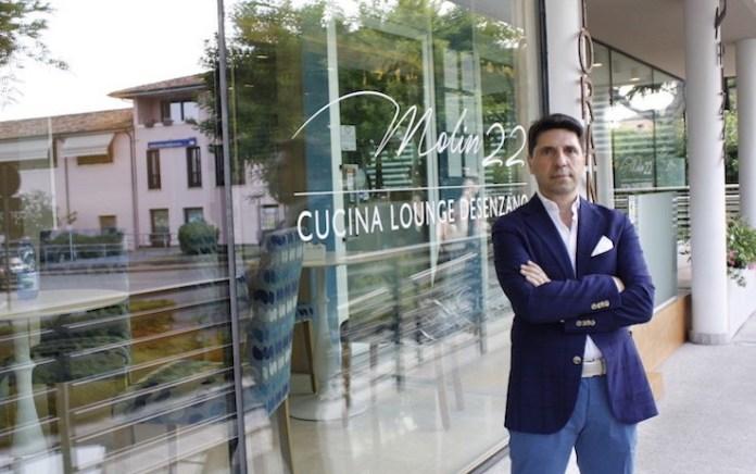 Il ristorante Molin 22 gestito da Donato Croce