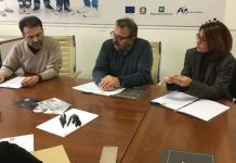 Silvano Baretti, Fernando Scarlata e Francesca Paola Lucrezi, foto Lucia Orto