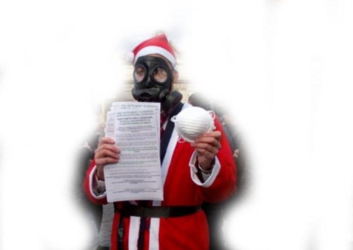 Lo smog a Brescia tiene banco anche durante le vacanze natalizie