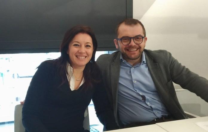 Simona Bordonali e Fabio Rolfi