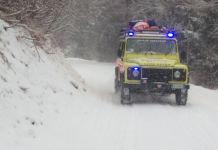 Gli uomini del soccorso alpino e speleologico intervenuti a Edolo - foto da ufficio stampa