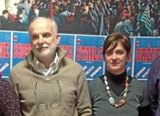 Damiano Galletti e Silvia Spera, Cgil di Brescia
