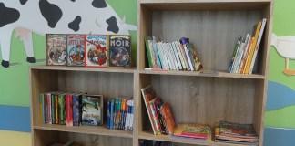 La nuova libreria donata alla pediatria dell'ospedale di Desenzano