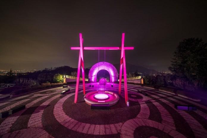 La cantina di Bellavista in rosa - Foto da Ufficio stampa