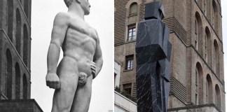 Il Bigio e il Negher di Paladino, quale delle due vorreste in piazza Vittoria?