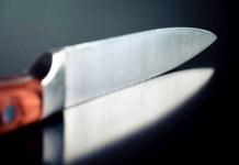 Un coltello da cucina