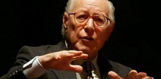 Il filosofo bresciano Emanuele Severino