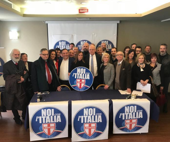 La presentazione di Noi con l'Italia a Brescia