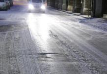 Pericolo ghiaccio anche sulle strade bresciane