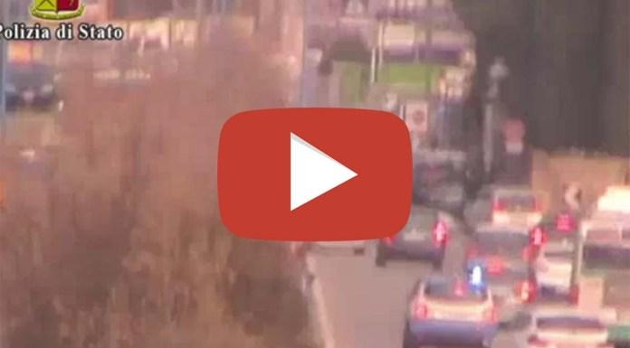 Il video della rapina di Brescia