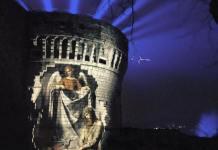 L'edizione 2018 del festival delle luci di Brescia Cidneon, foto dal profilo Facebook del sindaco Emilio Del Bono