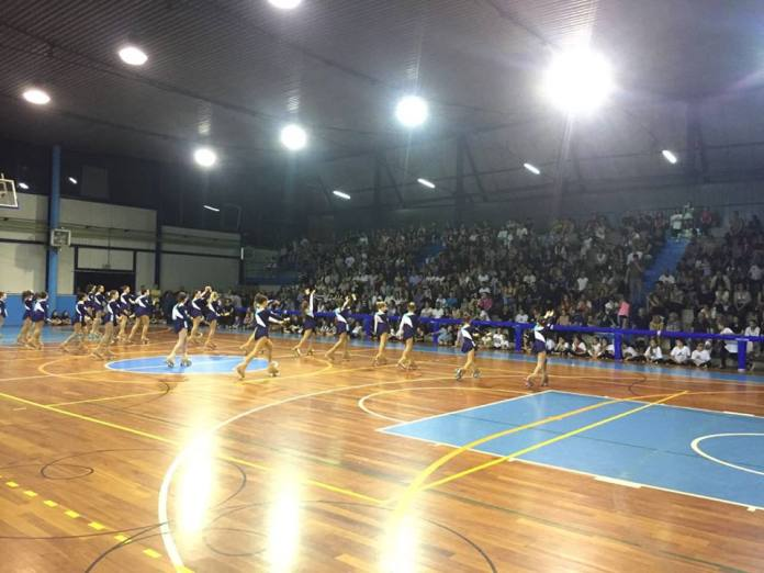Il palazzetto dello sport di Travagliato durante la Festa dello sport - foto da pagina Facebook Comune di Travagliato
