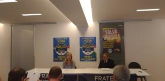 Viviana Beccalossi e Giampietro Maffoni, Fratelli d'Italia, foto di Andrea Tortelli
