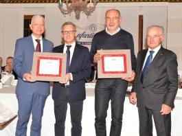 I premiati da Confartigianato a Gavardo - foto da ufficio stampa
