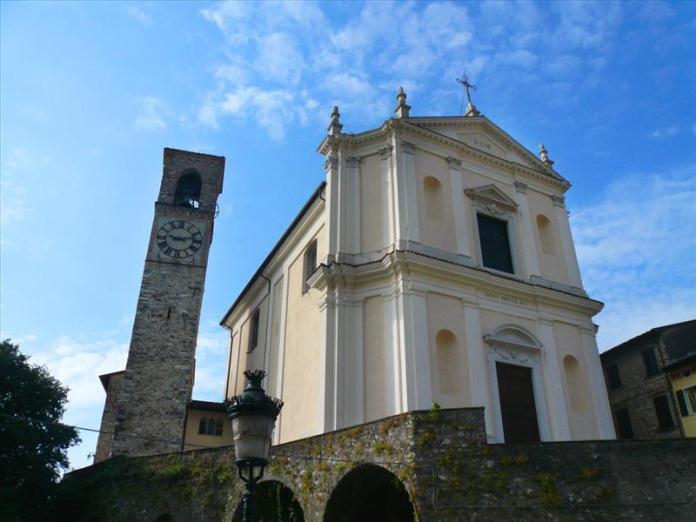 La chiesa di San Nicola di Gardone Rivera