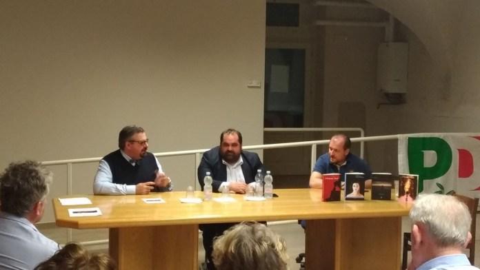 Da sinistra nella foto Paolo Festa, Nicola Fiorin e Angelo Bergomi, foto Andrea Tortelli per BsNews.it