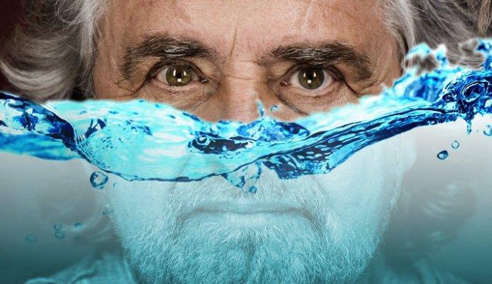 La battaglia sull'acqua pubblica di Beppe Grillo