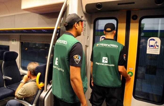 Guardie giurate in servizio sui treni