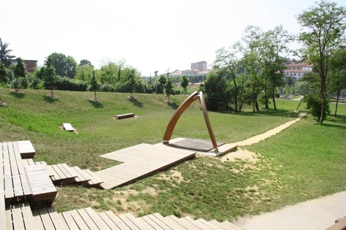 Il parco attrezzato Metelli di Palazzolo sull'Oglio