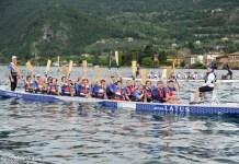 Dragon Boat sul lago di Iseo, foto da ufficio stampa