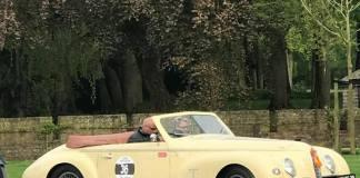 L'Alfa Romeo 6C 2500 cabriolet rubata la scorsa notte - foto dal profilo Facebook di Jeroen Branderhorst