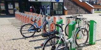 Le postazioni delle biciclette elettriche di Bici Mia